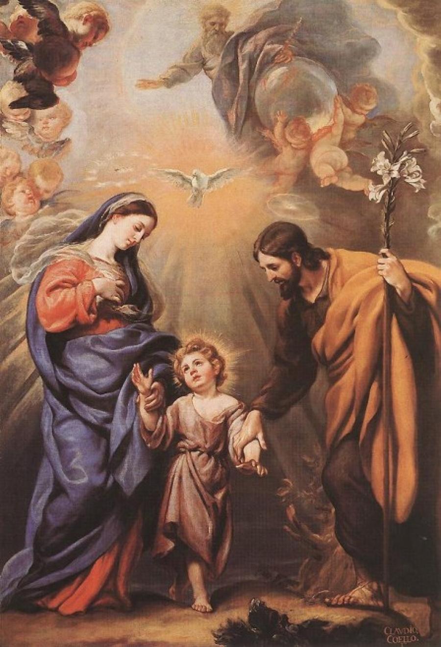 Heiliger Josef – Schutzpatron Familien