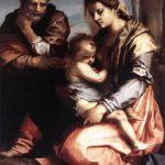 Die Heilige Familie mit Josef, Maria und dem Jesuskind, um 1528, Galleria Nazionale d'Arte Antica in Rom